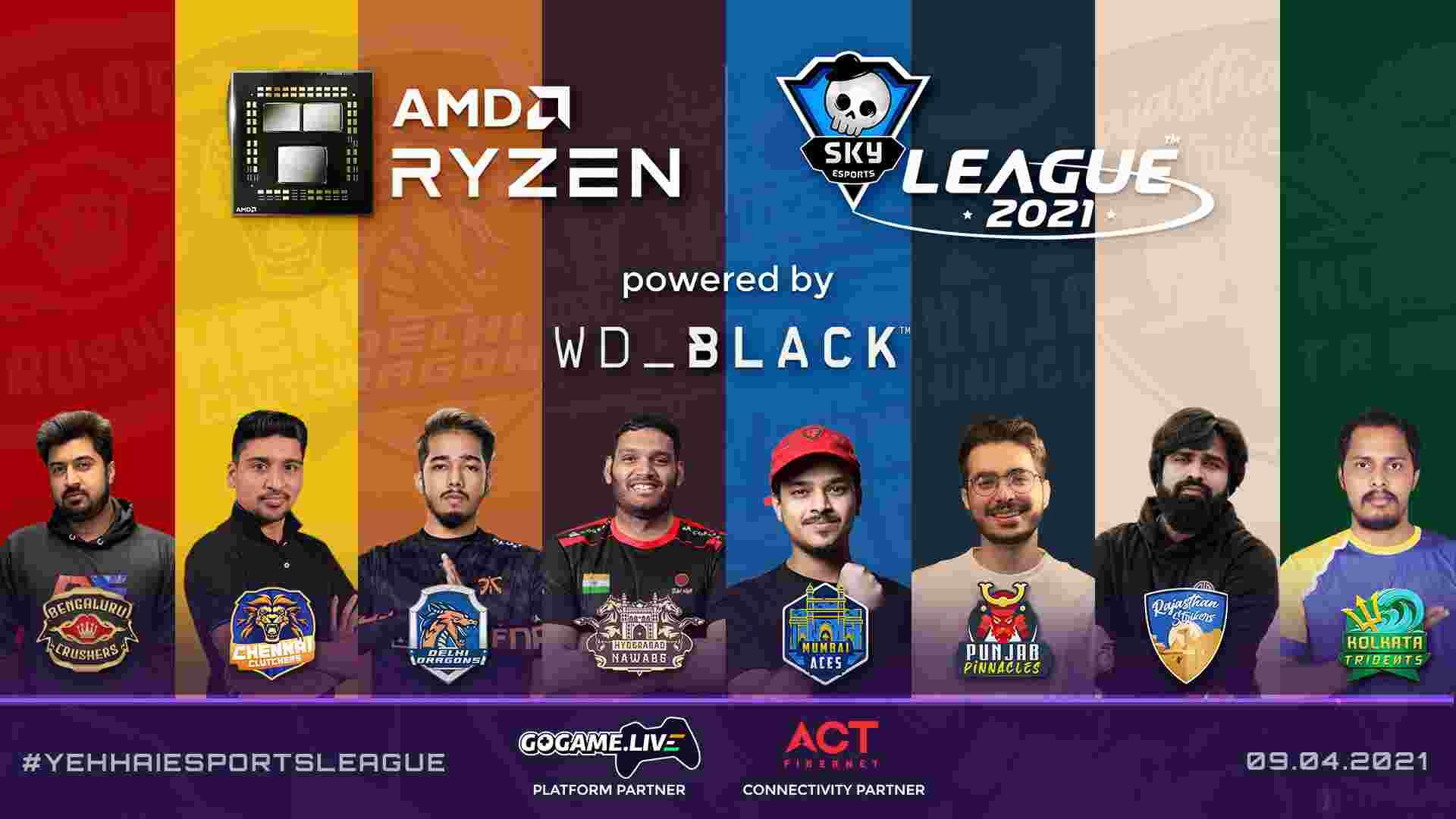 AMD Ryzen Skyesports League 2021