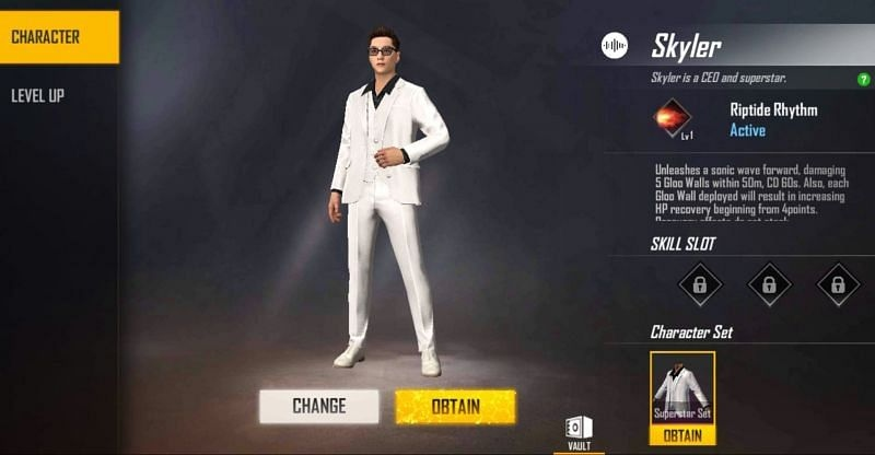 Top 5 Free Fire Characters April