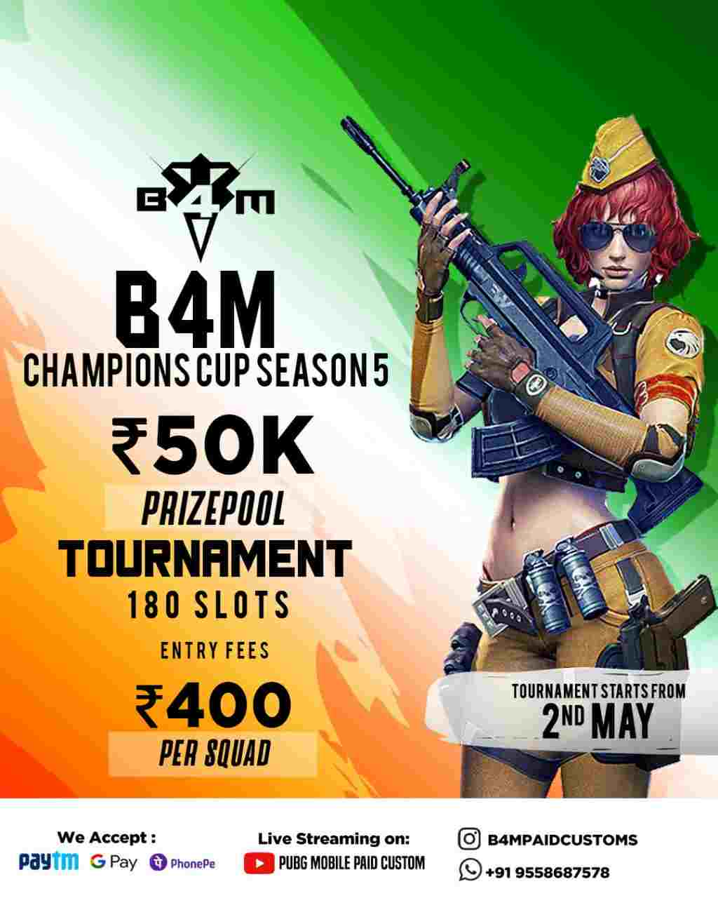 B4M Champions Cup Season 5