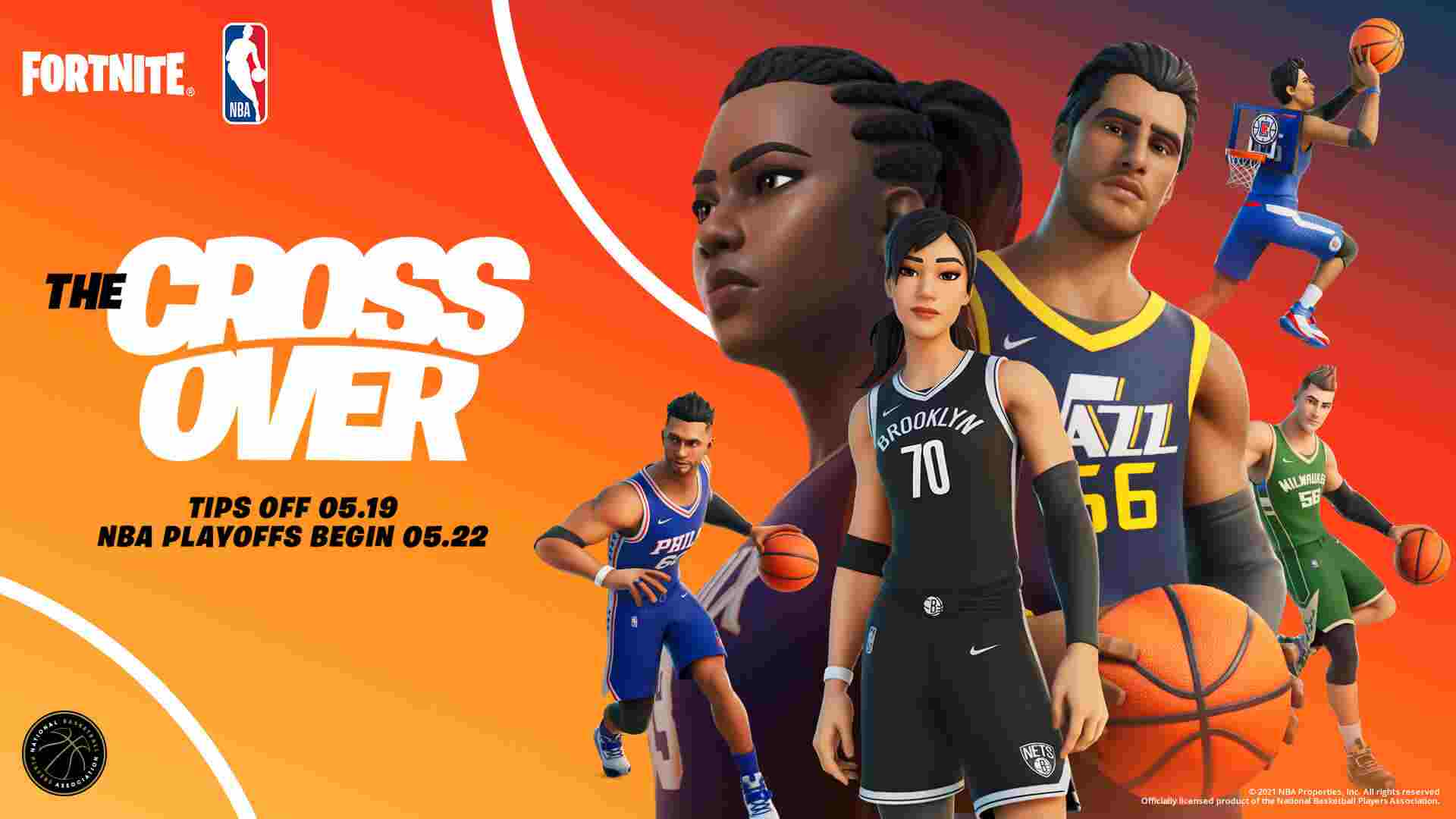 Fortnite x NBA Battles Team Crossover