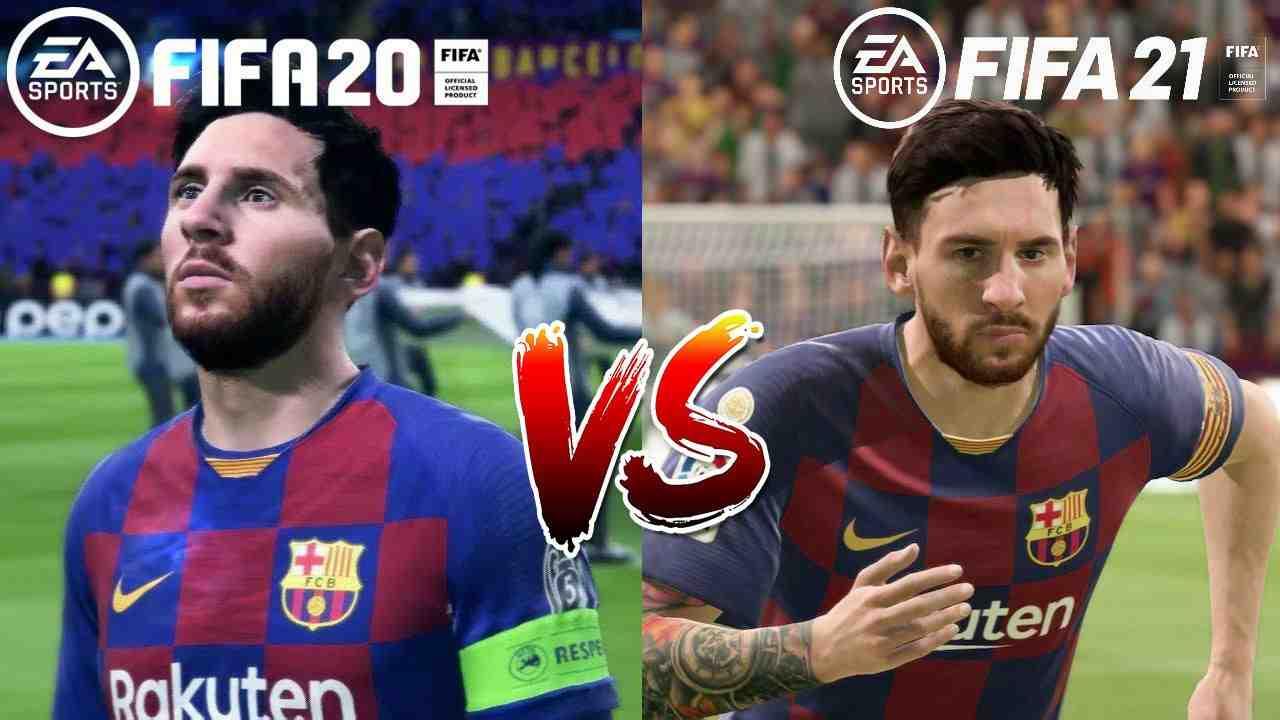 fifa 2021 vs fifa 2020