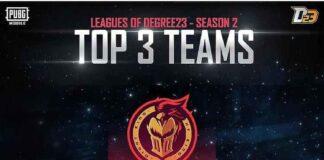 League of Degree23 Season 2 Winners