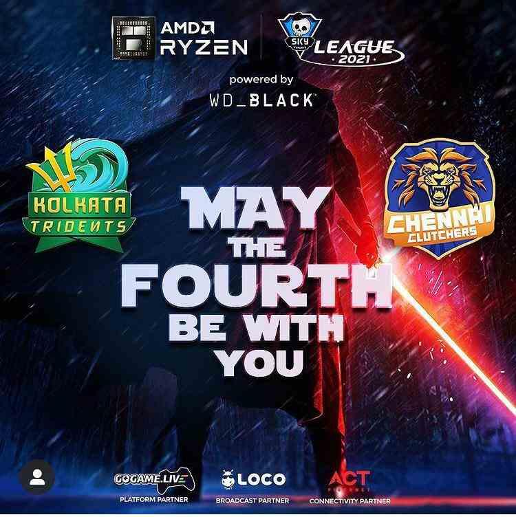 Day 25 of AMD Ryzen Skyesports League
