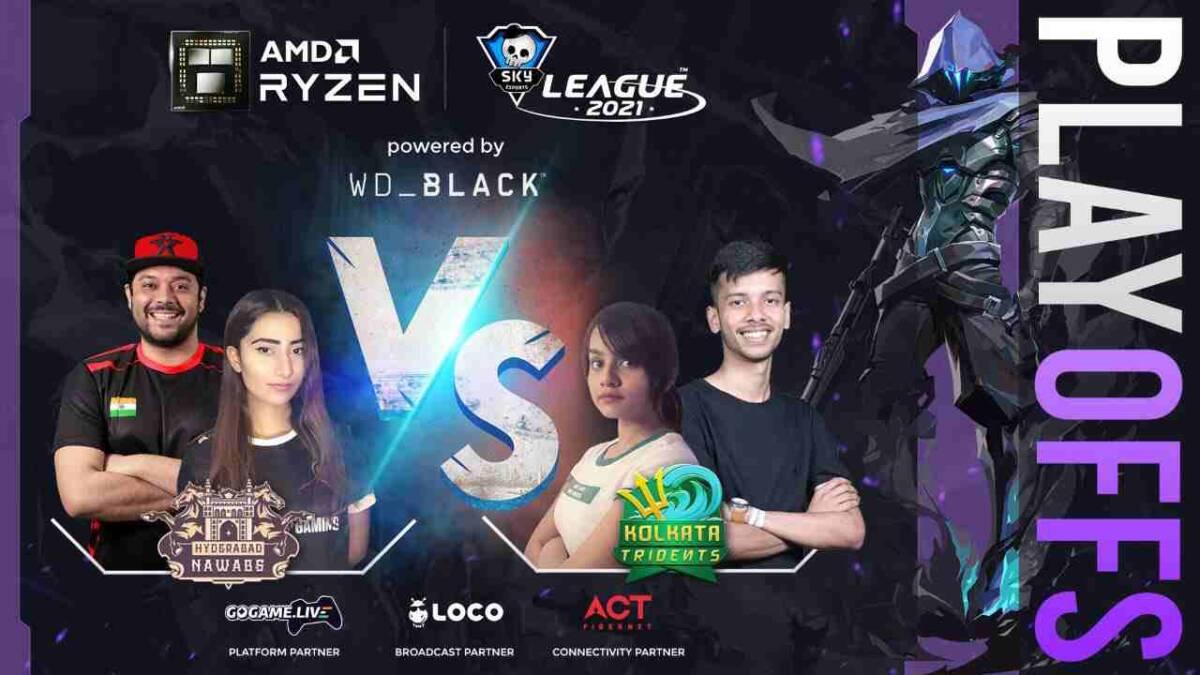 AMD Ryzen Skyesports Playoffs