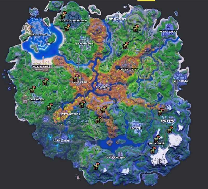 Fortnite Raptor Location