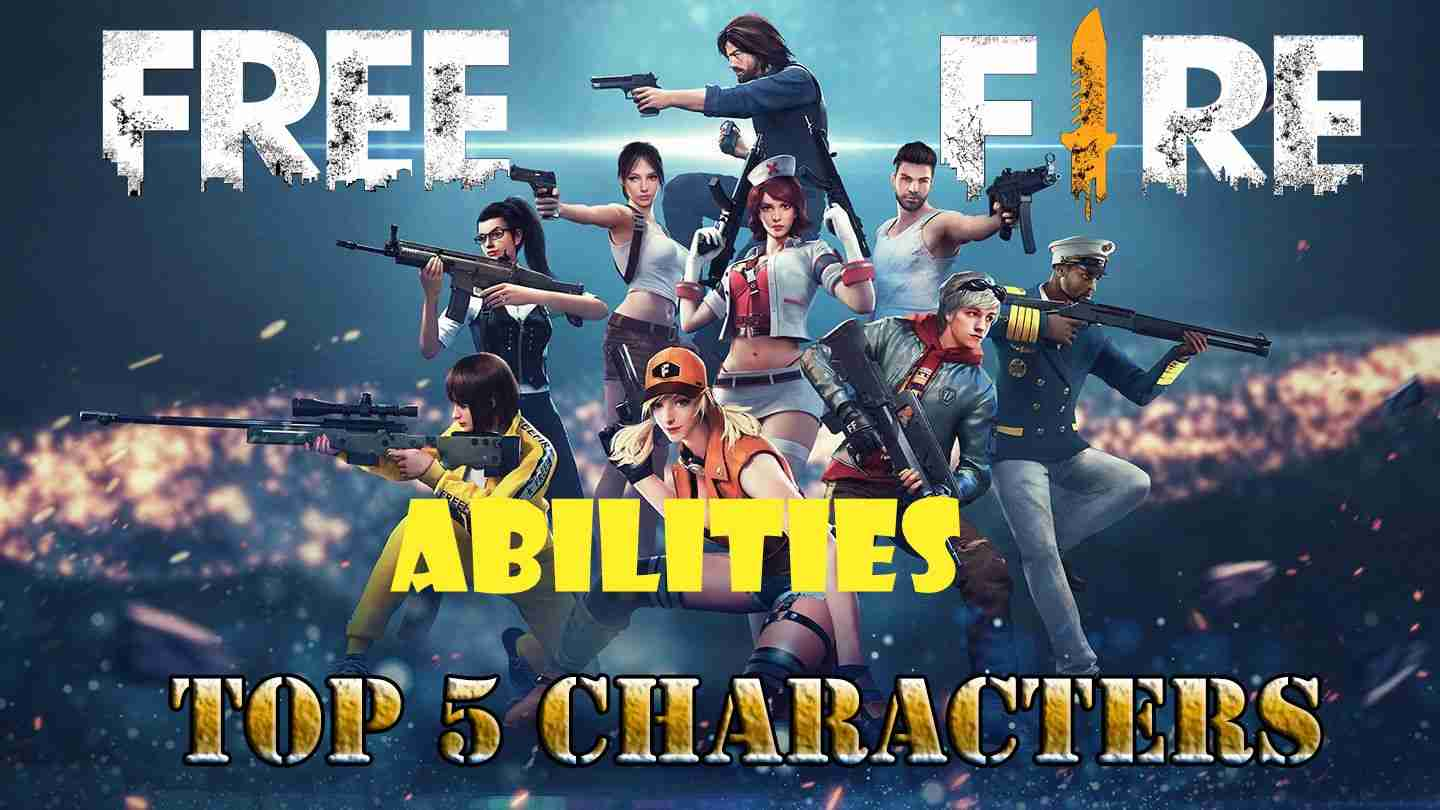Free Fire Best Character Abilities