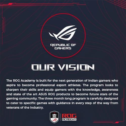 ASUS ROG Academy Vision ASUS ROG Academy Season 2