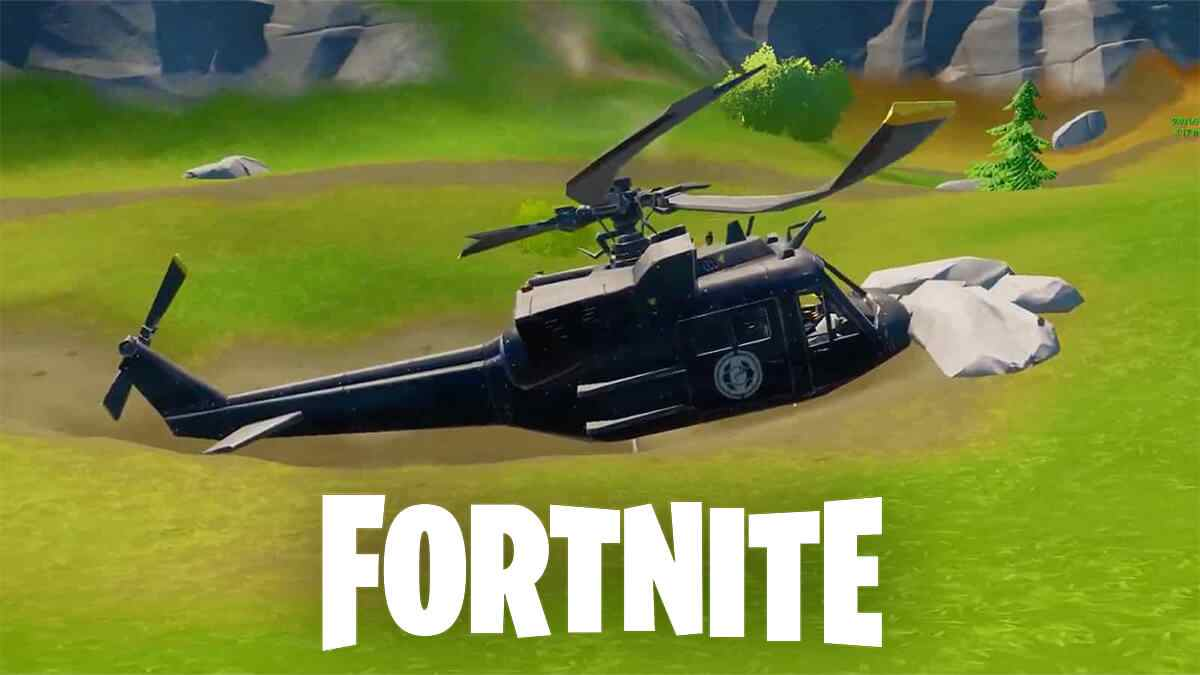 Helicopter in Fortnite