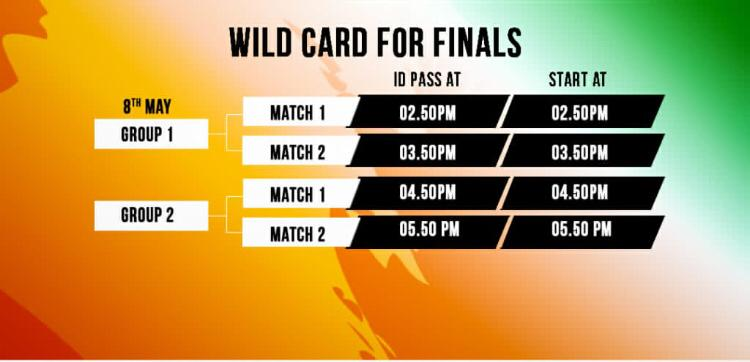 Wildcard for Finals