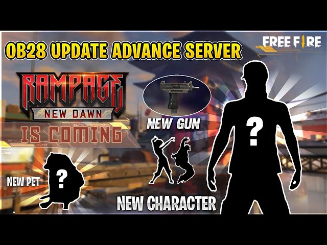 Free Fire Advance Server for OB28 Update