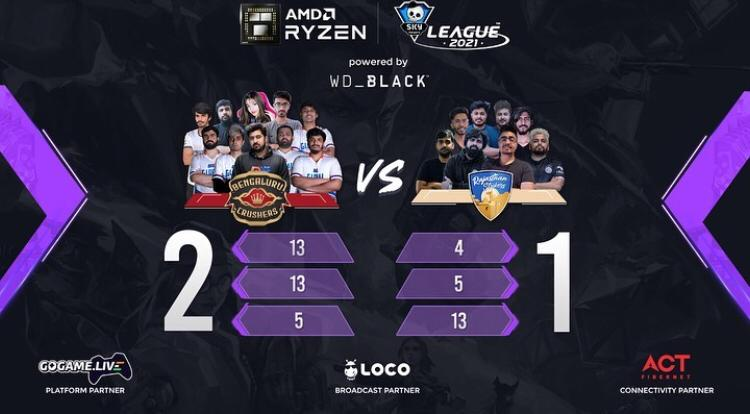 Day 24 of the Skyesports League match 2