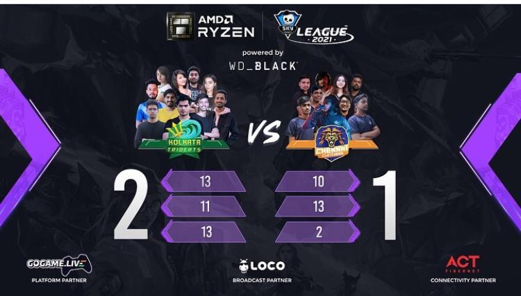 Day 26 of AMD Ryzen Skyesports League