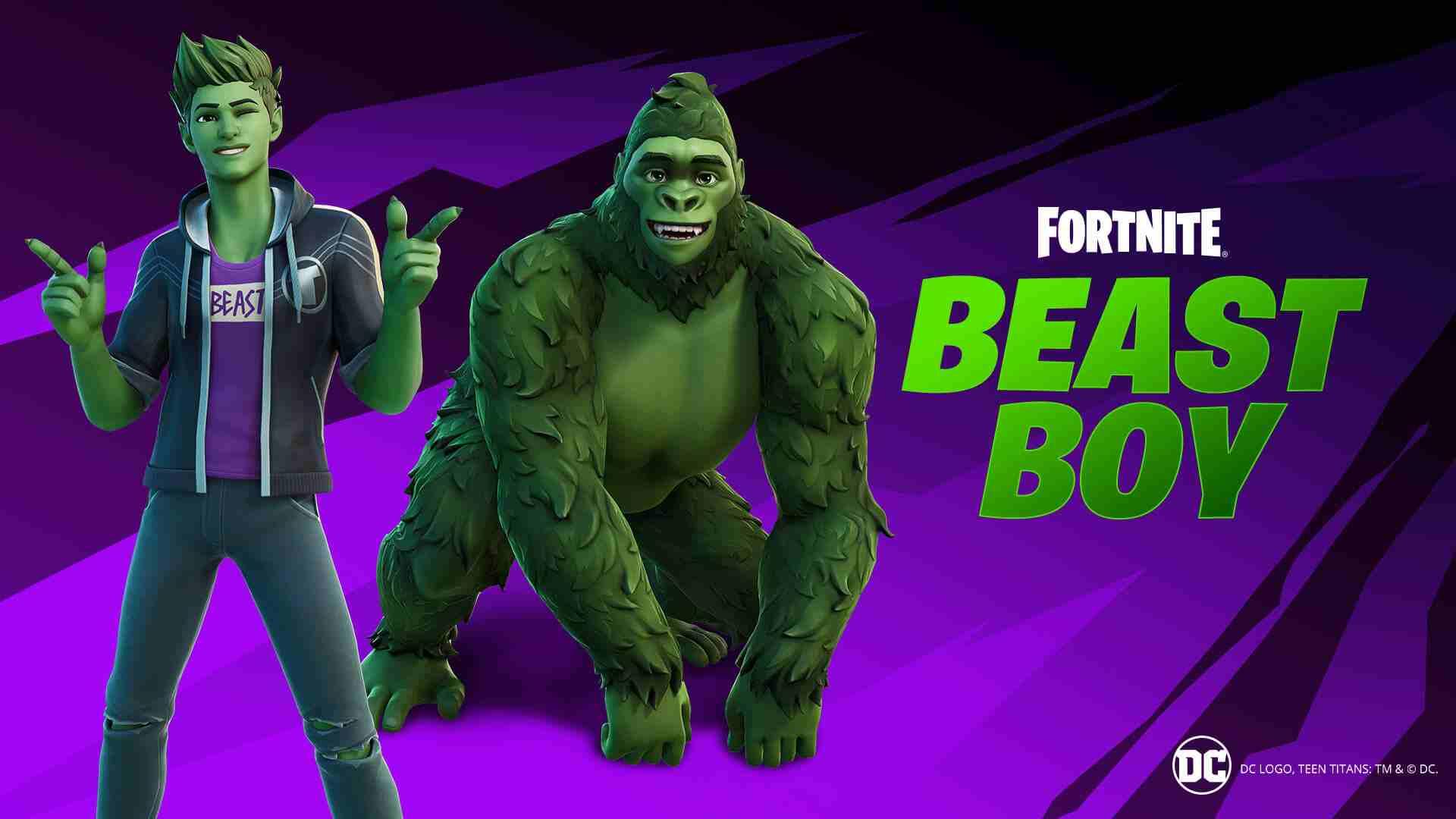 Fortnite Beast Boy