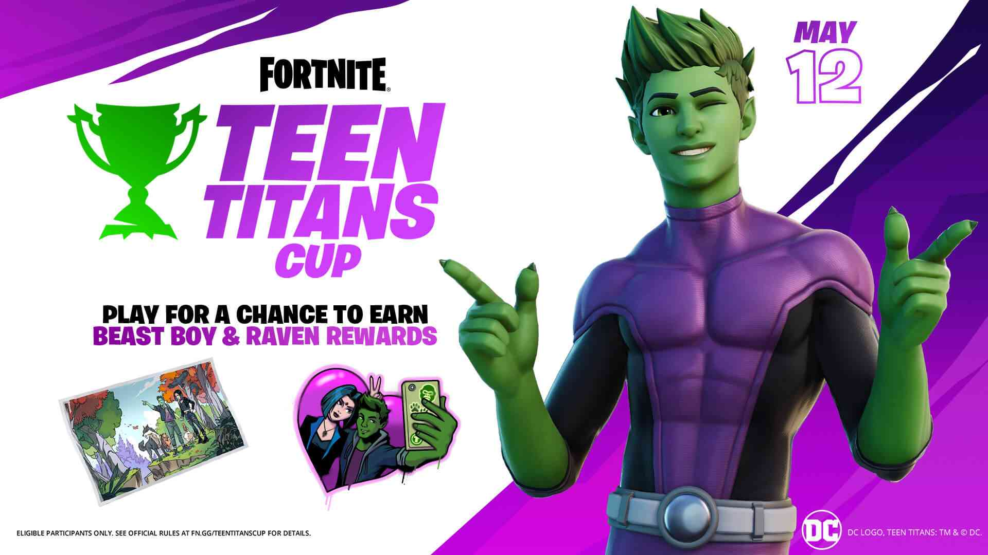 Fortnite Teen Titans Cup Details