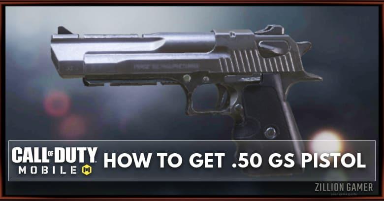 Double .50 GS Pistol in COD