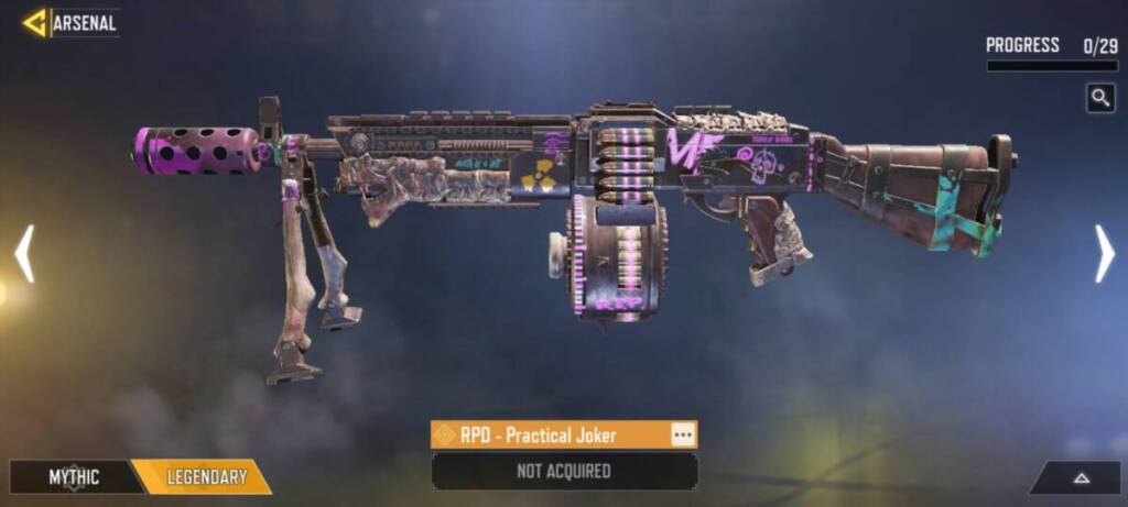 How to get legendary weapons in COD Mobile BR