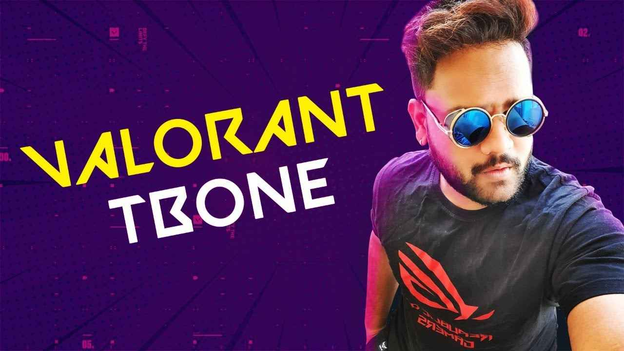 Top Valorant Streamers in India: Tbone