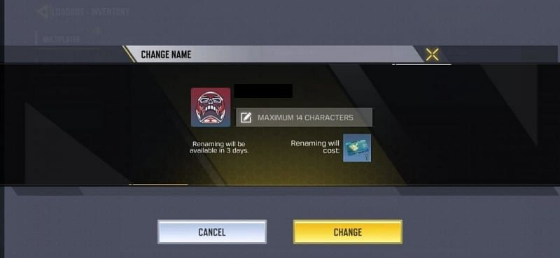 change your name in cod mobile for free