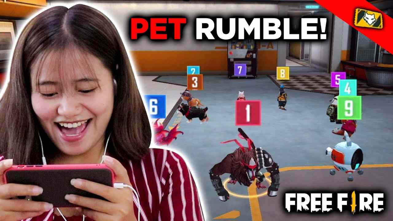 New Pet Rumble Free Fire