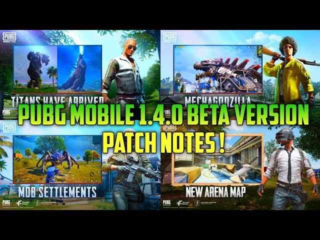 PUBG Mobile 1.4 Patch Notes