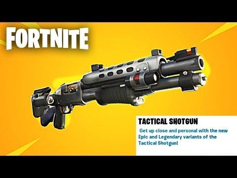 Tactical Shotgun and Infantry Rifle in Fortnite Season 6