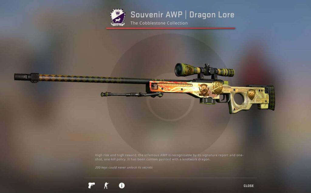 Most Expensive Skins in CSGO