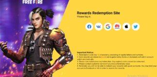 Free Fire Rewards Redemption Website