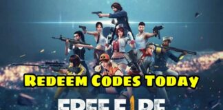 Free Fire 19 July Redeem Codes Today FF Redeem Codes Today