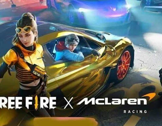 Free Fire Mclaren Racing Collaboration