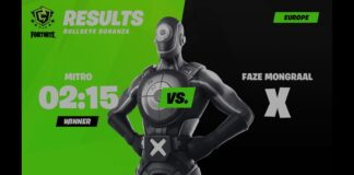 FNCSBullseye Bonanza Results