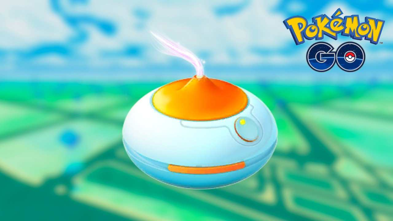 Orange Incense in Pokémon Go