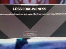 Apex Legends Loss Forgiveness
