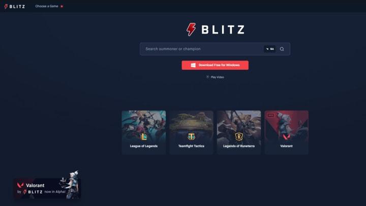 Blitz App for Valorant