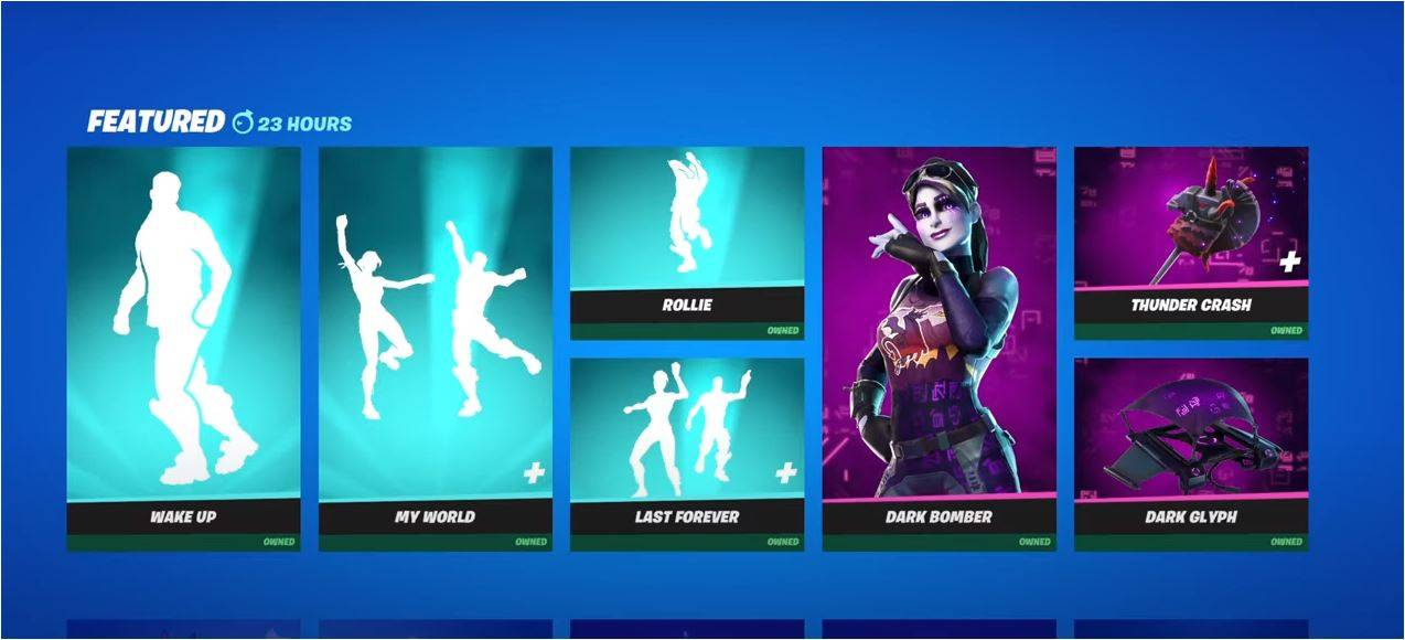 Featured Items on Fortnite Item Shop June 18 2021