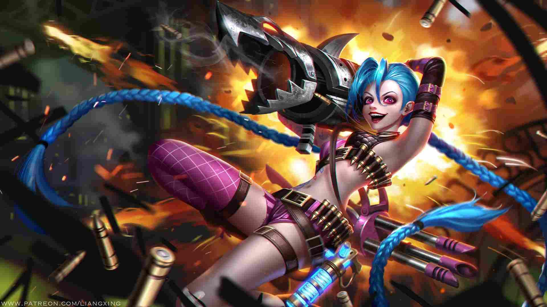 Jinx Lore League of Legends