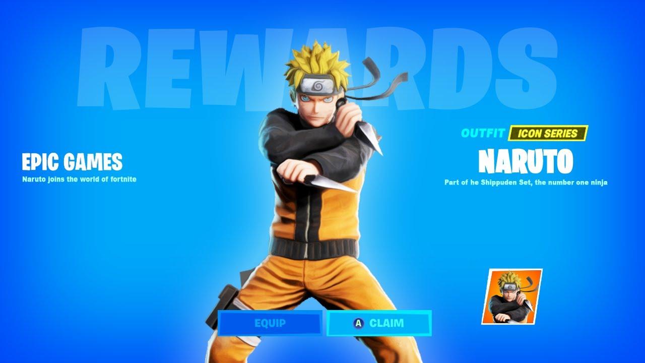 Fortnite Season 7 New Naruto Skin
