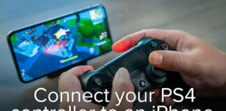 How to connect PS4 Controller to iPhone