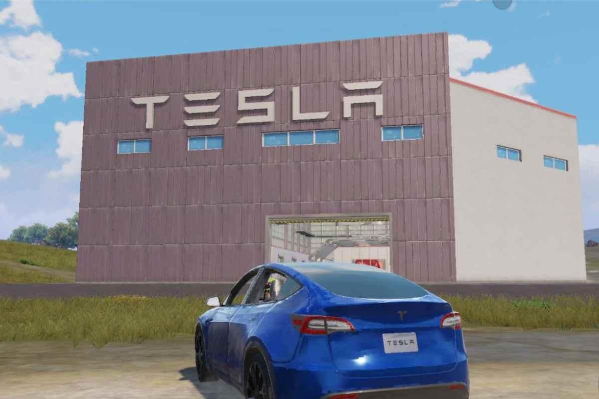 Tesla in BGMI