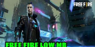 Free Fire Low MB apk Download