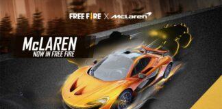 Free Fire McLaren P1 Skins