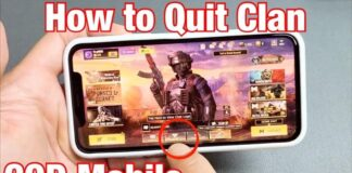 Leave a Clan in COD Mobile