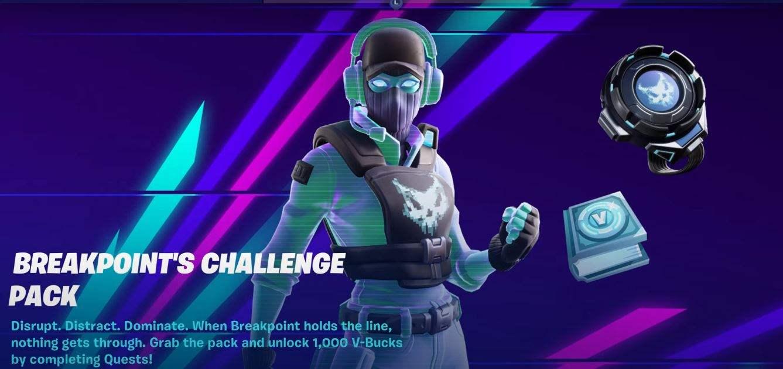 Breakpoint Bundle Challenge Pack fortnite