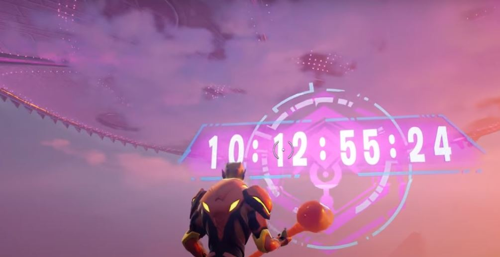 countdown in fortnite