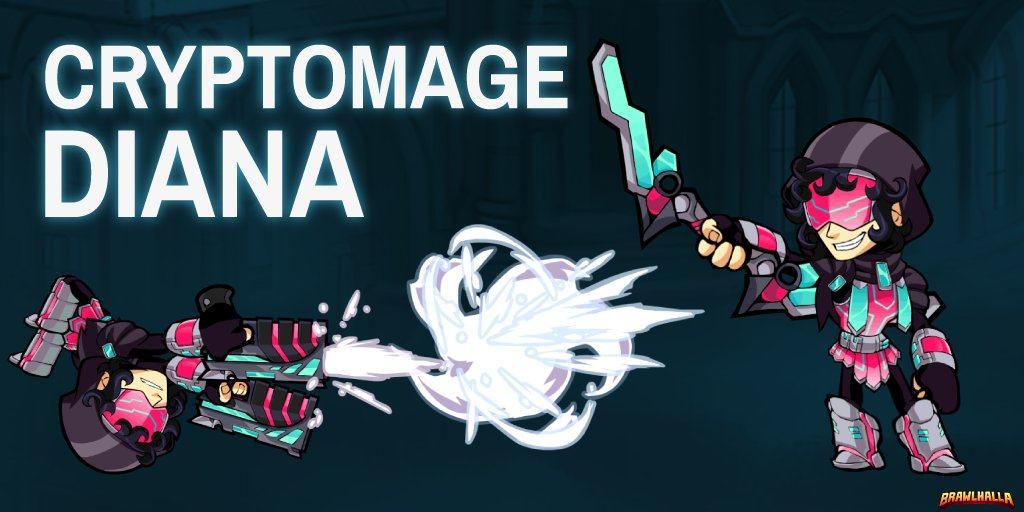 Crytpomage Diana (Brawlhalla)