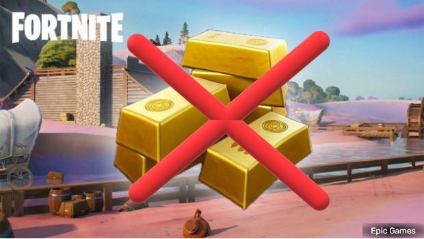 Fortnite Gold Reset