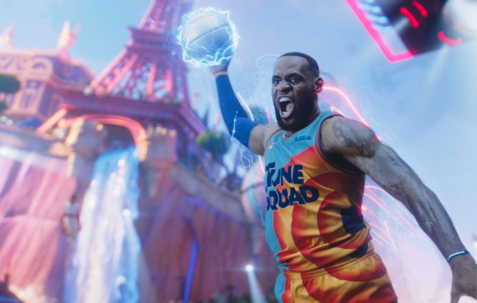 Lebron James from Space Jam 2