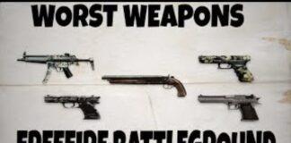 Worst Gun In Free Fire