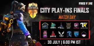 Free Fire City Open Play Ins Finals