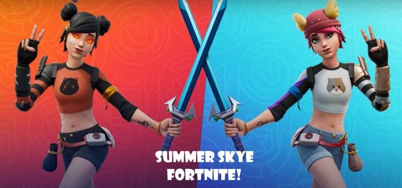 Summer Sky Fortnite