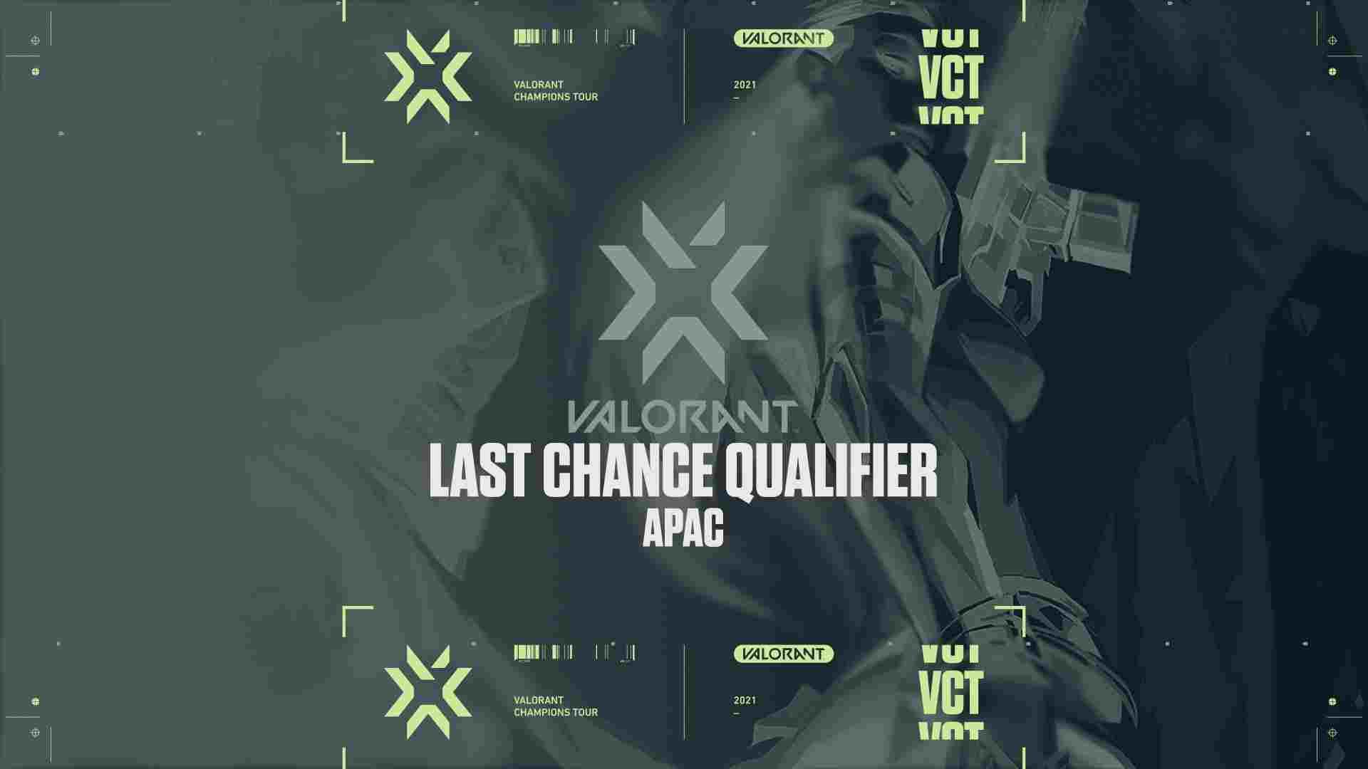 Valorant Last Chance Qualifie